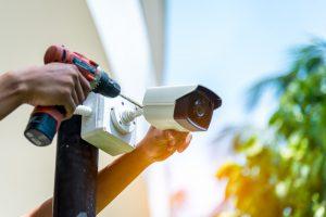 Montaggio telecamera per revamping del sistema di videosorveglianza