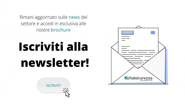 Italsicurezza - iscriviti alla nostra newsletter