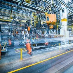 Sistemi di sicurezza per fabbriche e industrie