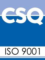 Logo certificazione ISO 9001